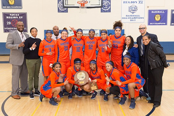 """Our main objective is to change lives,"" said DeVernie Winston, head women's basketball coach at Hostos Community College in the ..."
