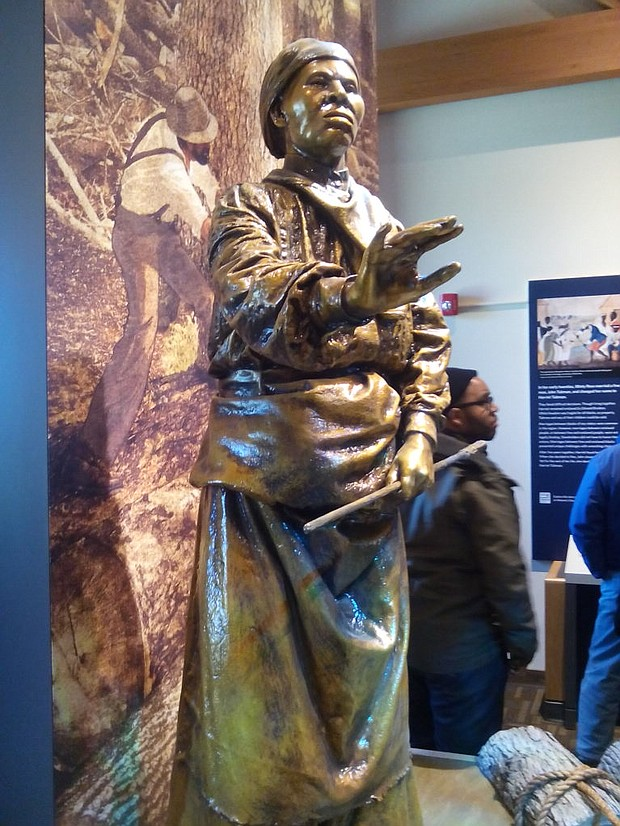 Harriet Tubman sculpture