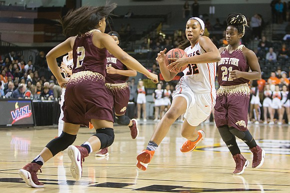 In her final Monacan High School game, Megan Walker showed she was human — but more importantly that she was ...
