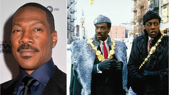 Eddie Murphy is reportedly writing a sequel to Coming to America, but he's still in the early stages, according to ...