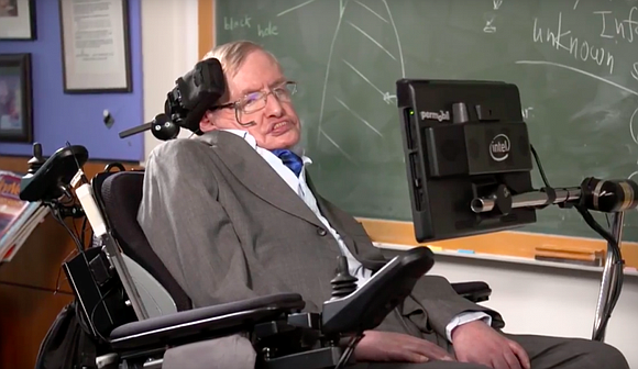Professor Stephen Hawking knows a lot about space – and now he's announced that he is actually going there.