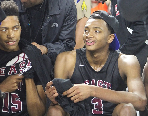 East players sport the look of champions. (Photo: Terry Davis)