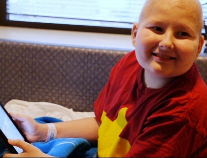 Leslie Morissette's son, Graham, was 6 years old when he was diagnosed with leukemia.