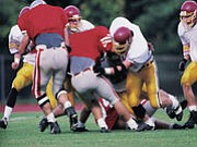 Low vitamin D levels are common among college football players and may put them at increased risk for injuries, a ...