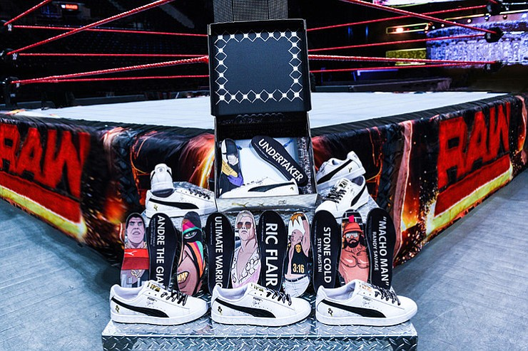 dfcc5b14a11ee5 WWE Debuts New PUMA Collection For Wrestlemania 33