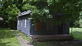 Aretha Franklin's birth home at 406 Lucy Avenue is symptomatic of Memphis battle with blight. (Google Streetview).