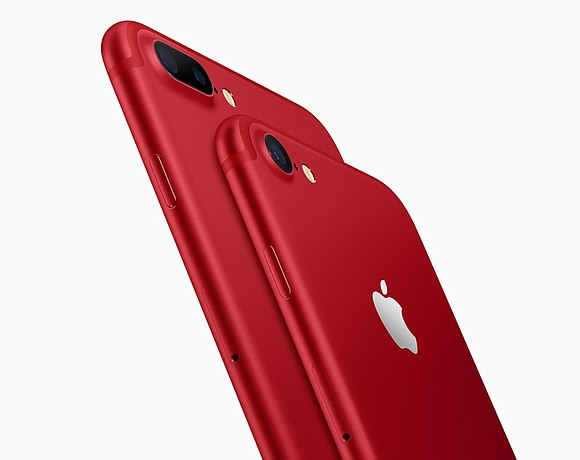 Apple unveiled Tuesday a special red version of the iPhone 7 and 7 Plus, to commemorate the 10-year partnership between ...