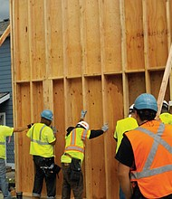 A free 9 week pre-apprenticeship training program offers 180 hours of classes and hands-on training for jobs in construction.