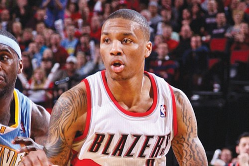 Portland Trail Blazers guard Damian Lillard has been named NBA Western Conference Player of the Week.