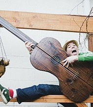 Musician Mo Phillips will be one of the performers during a series of free events for kids and teens during spring break in Beaverton and sponsored by the Beaverton City Library.