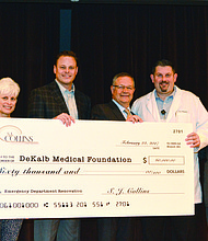 The DeKalb Medical Foundation has exceeded its $2.1 million campaign goal and the hospital is beginning the first phase of the expansion and renovation. The entire project is expected to be completed in December.