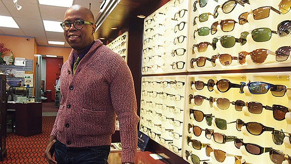 At Eye & Eye Optics, owner Bobin Nicholson wants the experience of choosing the right eyeglass frames to be as ...