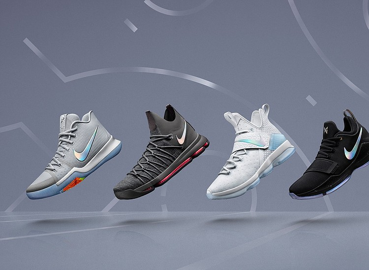 "the best attitude 97d73 34c02 Nike Unveils ""Time to Shine"" Sneaker Collection Filled With Basketball  Favorites"