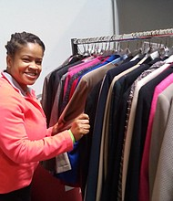 More than 800 suits were provided to veterans in the Fort Meade area.