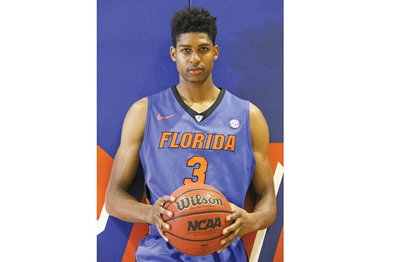 If you missed seeing Chesterfield County native Devin Robinson playing basketball as a youngster, here's your chance to observe the ...