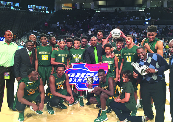 The Greenforest High School Eagles boys basketball team has the makings of a bona fide sports dynasty as it crushed ...