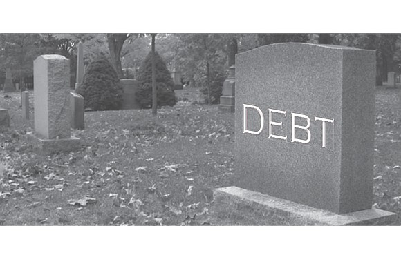 You're probably going to die with some debt. A majority of people do. In fact, 73 percent of Americans had ...