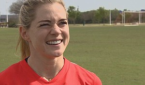 Houston Dash star Kealia Ohai