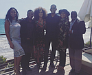 "Cast of ""Fresh Prince of Bel-Air"" poses for photo."
