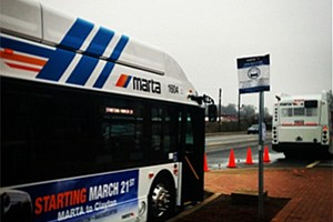 MARTA to roll out 30-foot buses for special roadway navigation.