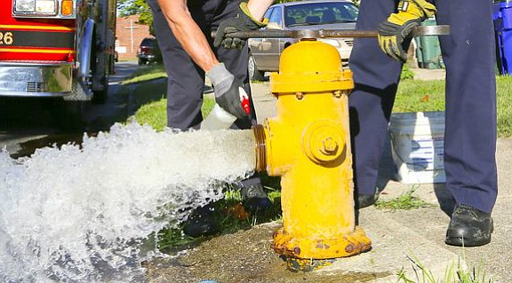 Beginning the week of August 5th, Illinois American Water will begin flushing water mains and hydrants in the West Suburban ...