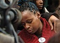 Venus Hayes rejects a decision clearing police in the shooting death of her son Quanice Hayes.