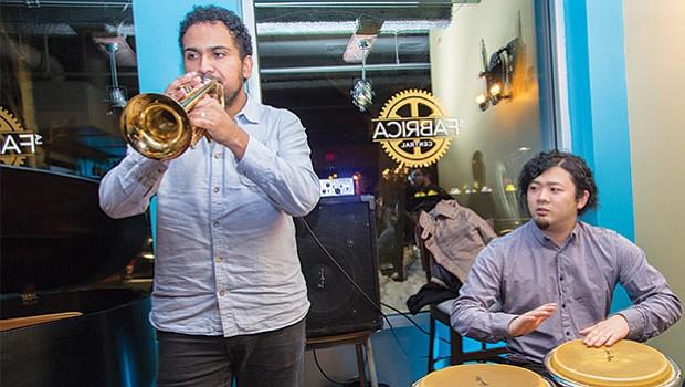Musicians from Zahili Gonzalez Zamora Quartet