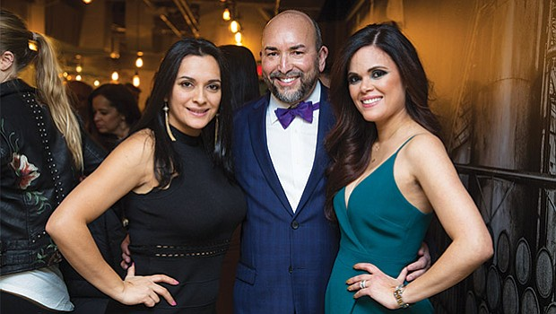 Gloria Velasquez, owner of design firm IMAGIX with Nivia and Hector Piña.