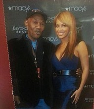 Murder victim Timothy Caughman with Beyonce