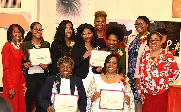 """The Negro Business and Professional Women's Club in Harlem celebrated Women's History Month by recognizing local young women """"for their ..."""