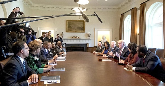 Black lawmakers emerged from a meeting with President Donald Trump at the White House last Wednesday saying the president was ...