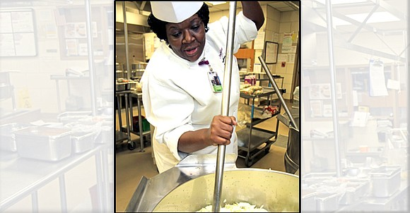 Executive Chef Andrea Piper at Parkland Health and Hospital System knows about food, family and community.