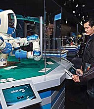 Robots designed by Chicago-area student and amateur teams will be on display, and guests can watch a live robotics competition during National Robotics Week Apr. 8-9 and 14-15at the Museum of Science and Industry (MSI), located on 5700 S. Lake Shore Drive.