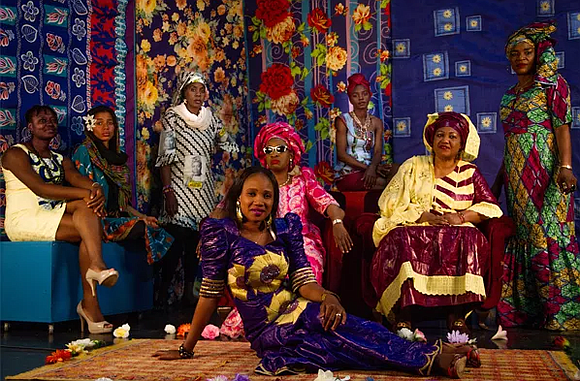 A powerhouse collective of West African women musicians, including Angélique Kidjo, Kandia Kouyaté, Mamani Keita, Mariam Doumbia, Mariam Koné, Massan ...