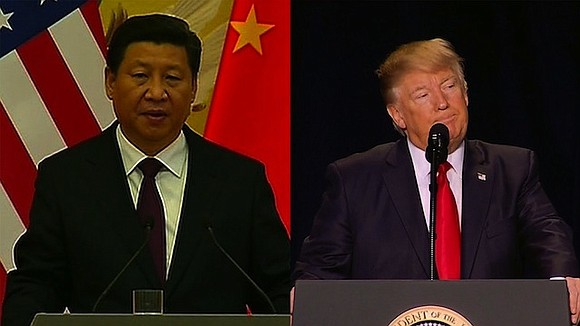 Chinese President Xi Jinping discussed the situation in North Korea and Syria with US President Donald Trump in a telephone ...