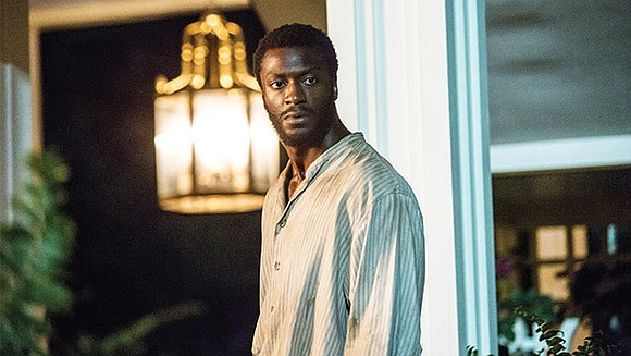 "Here, Aldis Hodge talks about playing Levi Jackson in the Oscar-nominated ""Hidden Figures"" and about reprising the role of Noah ..."