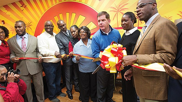 Mattapan residents, Greater Boston's Caribbean community, local elected officials celebrated the grand opening of Boston's first Golden Krust Caribbean Bakery ...