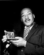 A Man Honored…  In 1964, at age 35, King was the youngest person to receive the Nobel Peace Prize.