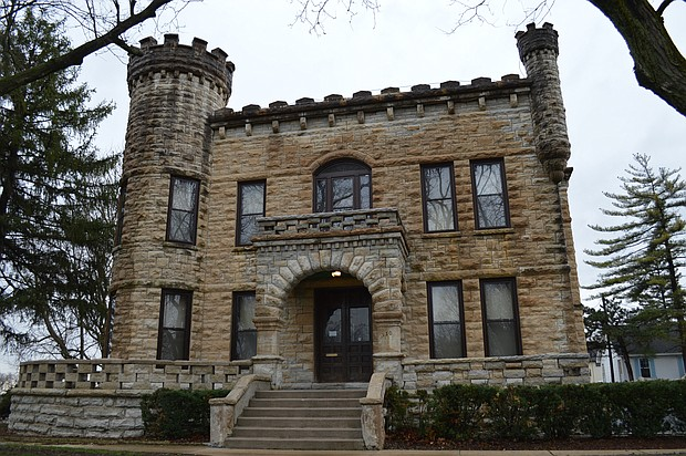 The castle-like former Diocese HQ will become Bridgeport Winery in Joliet.