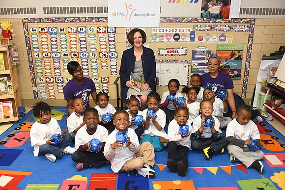 PNC Foundation will fund hundreds of pre-K classroom requests as part of a new $5 million grant to DonorsChoose.org to ...