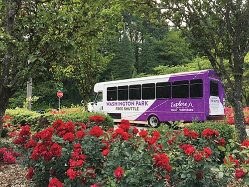 Washington Park's free shuttle is back.