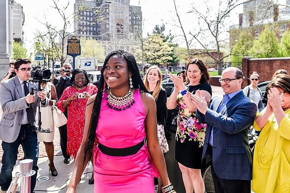 Ifeoma White-Thorpe thought she'd be headed to Harvard — until seven other letters rolled in.