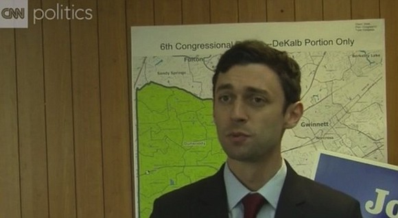 Democrat Jon Ossoff fell just short Tuesday of capturing a House seat in a longtime conservative stronghold in Georgia, serving ...