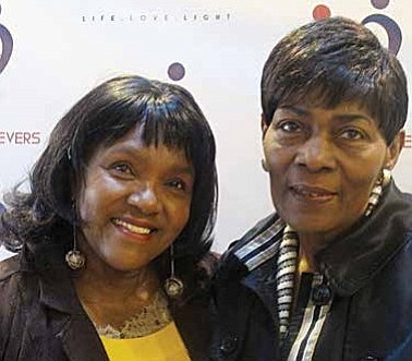 Urban L.O.V.E Community Development Corp. has been serving the Chatham community for 10 years by dedicating its time to giving back to students who want to succeed. Pictured (left) is Saundra Roberts/Organizer and (right) is Fannie Cawley/ Evangelist of New Life Believer's Church.