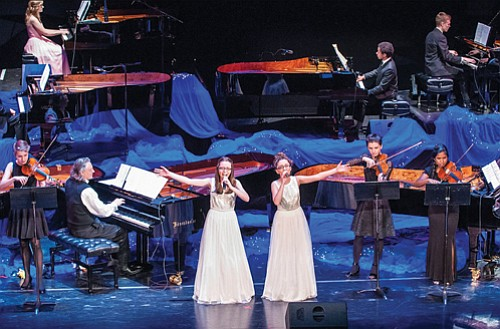 On Saturday, April 15, the stage at the Arlene Schnitzer Concert Hall will be filled with 10 grand pianos in a musical showcase to benefit music education programs.