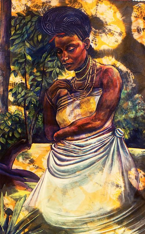 Stephen Hamilton transforms ordinary people he has met in his travels into deities of Yoruba spiritual traditions.