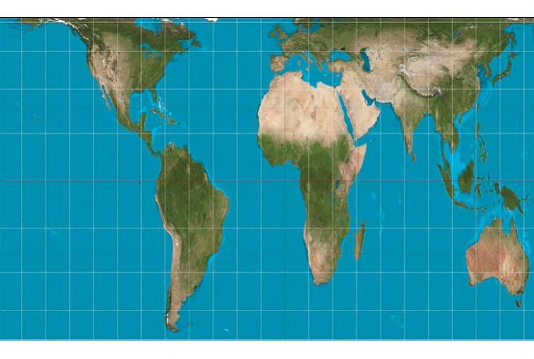 World map shows africa in truthful light richmond free press world map shows africa in truthful light gumiabroncs Gallery