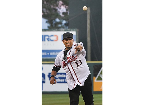 The Richmond Flying Squirrels' eighth season at The Diamond opened in a big way — a big crowd, big winds, ...