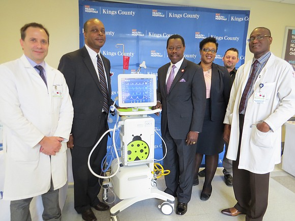 NYC Health + Hospitals Kings County has recently made a large investment in cutting-edge critical-care technology to provide patients with ...