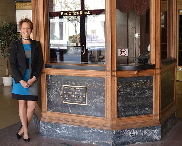 Valerie Devine, executive director of the Rialto Square Theater in Joliet.